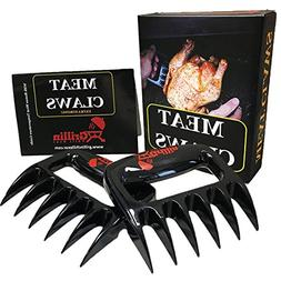 Meat Claws Pulled Pork Meat Shredder Forks - Solid Heavy Dut