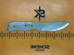 Mountain Bushcrafter Tumbled 1095 High Carbon Steel Knife Bl