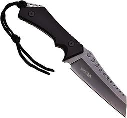 """Master Cutlery MT-20-50SW 10"""" Fixed Stone Wash Blade Knife,"""