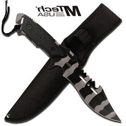 MTECH USA Mt-622Uc Tactical Fixed Blade Knife, 12-Inch Overa