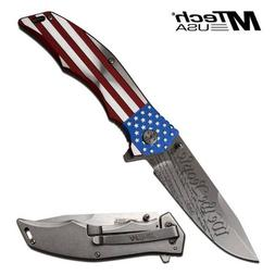 MTech USA XTREME USA WE THE PEOPLE SPRING ASSIST KNIFE 5 in