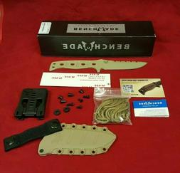 New Benchmade 375SN Adamas Fixed Blade Tactical Military Kni
