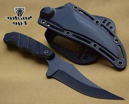 NEW ARRIVAL FIXED BLADE HUNTING SKINNING KNIFE WITH NYLON FI