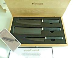 NEW KAMIKOTO KURO Series Set of 3 Knives w Certificate in Or