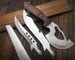 New Multi-Knife Axe Saw Rescue Pocket Hunting Tools Knife C1