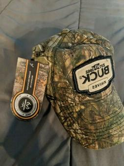 NWTS Buck Knives Real tree Camouflage Men's Hat OSFM