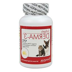 Omega 3 Plus Vitamins Softgels - 60 count For small breeds.