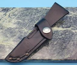 Buck Knives Open Season 543 Caping Caper Leather Fixed Blade