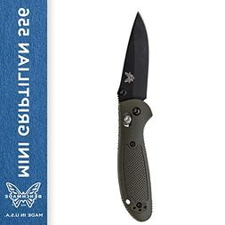 Benchmade - Mini Griptilian 556 EDC Manual Open Folding Knif
