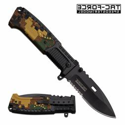 pocket knife tac force tf 928dg 500