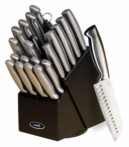 Professional Knife Block Set Chef Kitchen Knives Cutlery Sha