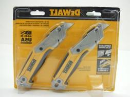 Dewalt Retractable Utility Knife Box Cutter Set of 2