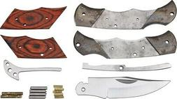 Rough Rider RRCS4 Custom Shop Small Folding Knife Kit Wood H