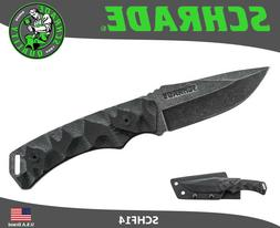 Schrade SCHF14 7.9in High Carbon S.S. Full Tang Fixed Blade