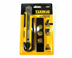 DEWALT Snap-off 25mm Blade Knife with 11 Blades