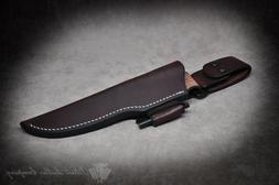 Spyderco Knives 'The Valley Forge' Custom Leather Bushcraft