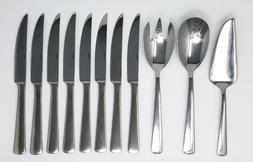 Oneida Stainless Steel 11 Piece Completer - 3 Serving pieces