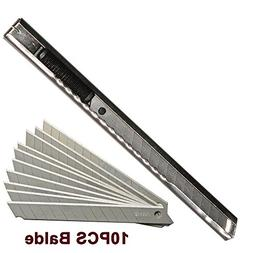 Ehdis Stainless Steel Art Knife Retractable Folding Utility
