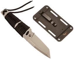 Smith & Wesson SW910TA Drop Point Fixed Blade Knife with Par