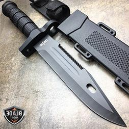 "12.5"" TACTICAL SURVIVAL Rambo Hunting FIXED BLADE For Practi"