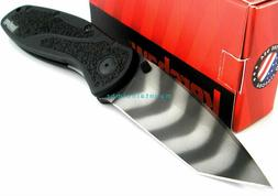 Kershaw Blur Tiger Stripe Tanto BDZ1 Steel Assisted Opening