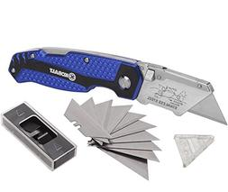 KOBALT UTILITY KNIFE 11 BLADES QUICK CHANGE BOX CUTTER RAZOR