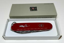 VICTORINOX SWISS ARMY KNIFE GOLFER #53811 COLLECTIBLE NEW IN