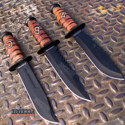 """WARTECH 12"""" MILITARY USMC Tactical Fixed Blade Fighting Knif"""