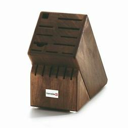 Wusthof 17-Slot Knife Block - Walnut