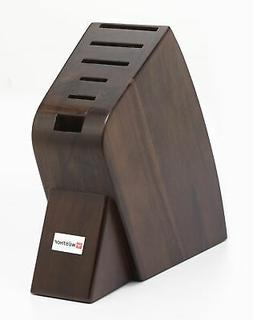 Wusthof 6-Slot Studio Knife Block | Walnut