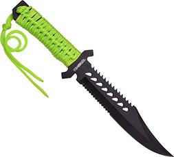 Master Cutlery Z-Hunter Knife with Cord Wrap Handle and 11.5